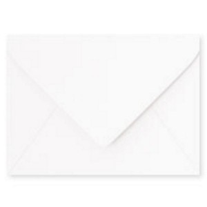 Paper Source White A7 Envelope - 10 count class=