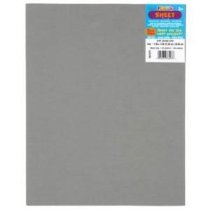 Darice Gray Foam Sheet – 9″ x 12″, 2mm
