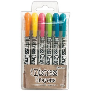 Tim Holtz Distress Crayons - Set #1