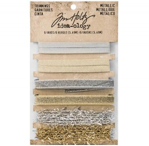 Tim Holtz Idea-ology Metallic Trimmings