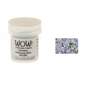 WOW! Iced Silver Embossing Glitter