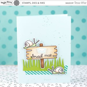 Waffle Flower Snail Mail Stamp Set class=