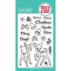 Avery Elle Kitsch Christmas Stamp Set