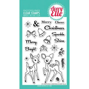 Avery Elle Kitsch Christmas Stamp Set