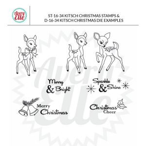 Avery Elle Kitsch Christmas Stamp Set class=
