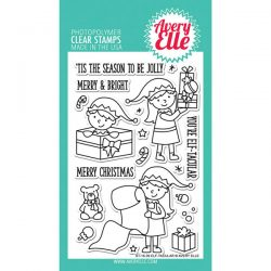 Avery Elle Elf-tacular Stamp Set