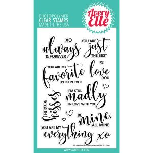 Avery Elle Favorite Person Stamp Set