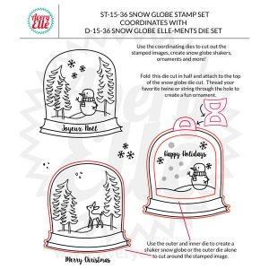 Avery Elle Snow Globe Stamp Set class=
