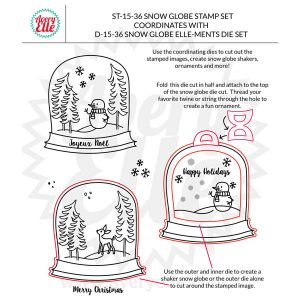 Avery Elle Snow Globe Elle-ments Die Set class=