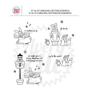 Avery Elle Caroling Critters Stamp Set class=