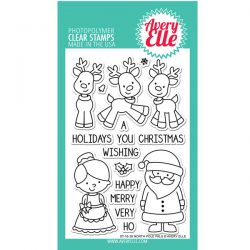 Avery Elle North Pole Pals Stamp Set