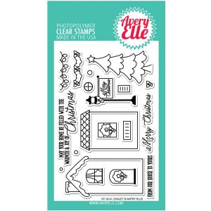 Avery Elle Chalet Stamp Set