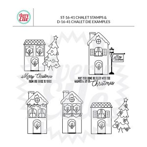 Avery Elle Chalet Stamp Set class=