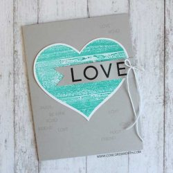 Concord & 9th Heart Smile Stamp Set
