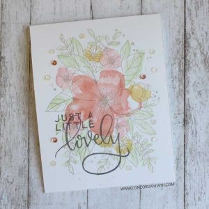 Concord & 9th Hello Lovely Stamp Set class=