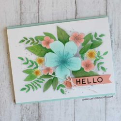 Concord & 9th Hello Lovely Stamp Set