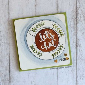 Concord & 9th Let's Chat Stamp Set class=