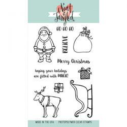 Neat & Tangled Santa's Ride Stamp Set
