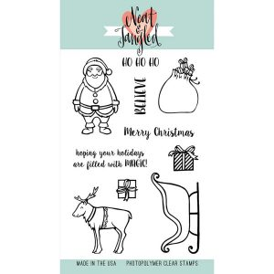 Neat & Tangled Santa's Ride Stamp Set