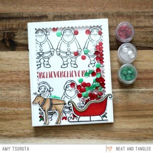 Neat & Tangled Santa's Ride Stamp Set class=