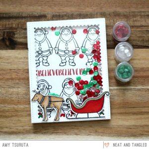 Neat & Tangled Santa's Ride Die Set class=