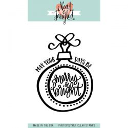 Neat & Tangled Merry & Bright Ornament Stamp Set