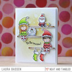 Neat & Tangled Elf & Their Shelf Stamp Set
