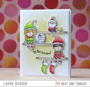 Neat & Tangled Elf & Their Shelf Stamp Set class=