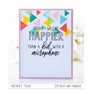 Neat & Tangled Happier Than Stamp Set class=