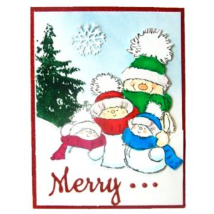 Penny Black Snow Much Fun Stamp Set class=