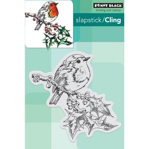 Penny Black Overjoyed Cling Stamp