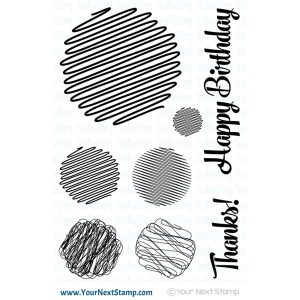 Your Next Stamp Scribble Fun Set Two Stamp Set