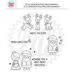 Avery Elle North Pole Pals Stamp Set