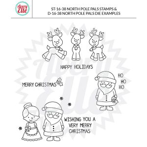 Avery Elle North Pole Pals Stamp Set class=