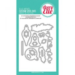 Avery Elle Retro Ornaments Elle-ments Die set