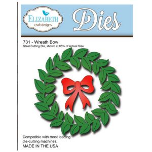 Elizabeth Craft Designs Wreath Bow Die Set
