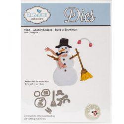 Elizabeth Craft Designs Build A Snowman Die Set
