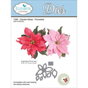 Elizabeth Craft Designs Poinsettia Die Set