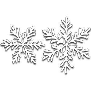 Penny Black Snowflake Duo Die Set
