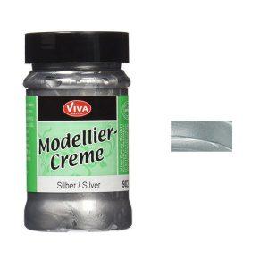 Viva Decor Modellier Creme - Silver