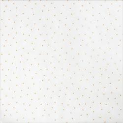"Wonder Gold Foil Triangles on Vellum - 12"" x 12"""