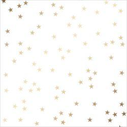 """Shimelle Gold Foil Stars on Vellum Paper - 12"""" x 12"""""""