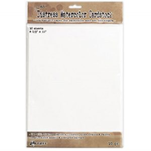 "Tim Holtz Distress Watercolor Cardstock - 8 1/2"" x 11"""