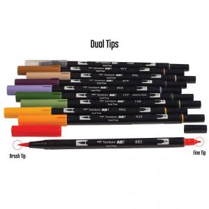 Tombow Dual Brush Pen Set - Secondary class=