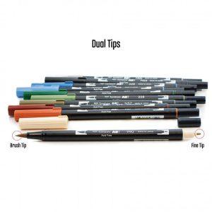Tombow Dual Brush Pen Set - Landscape class=