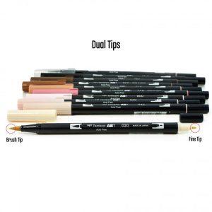 Tombow Dual Brush Pen Set - Portrait class=