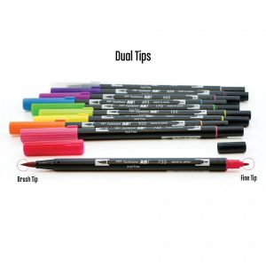 Tombow Dual Brush Pen Set - Bright class=