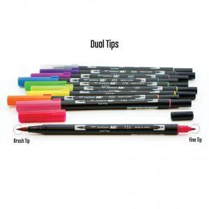 Tombow Dual Brush Pen Set - Bright class=