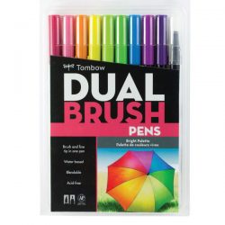 Tombow Dual Brush Pen Set - Bright