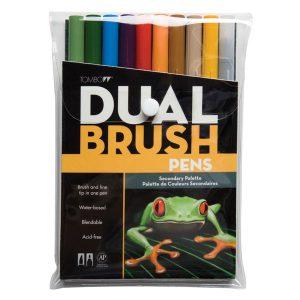 Tombow Dual Brush Pen Set - Secondary